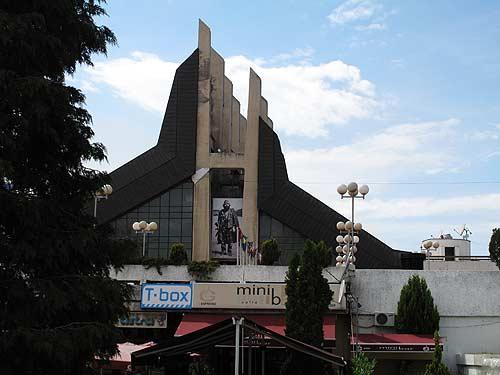 Die kosovarischen Hauptstadt Prishtina