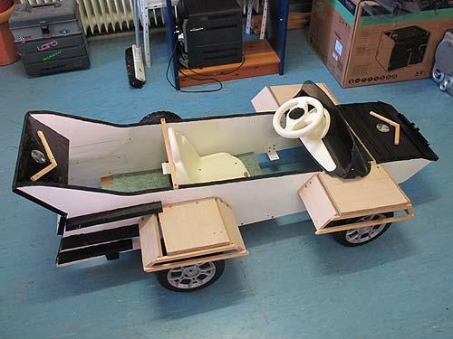 Das Fahrzeug, erste Ausbaustufe