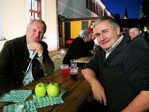 Peter Moser (links) und Ewald Ulrich