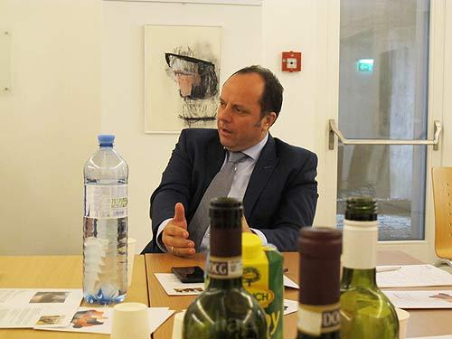 Bürgermeister Christoph Stark