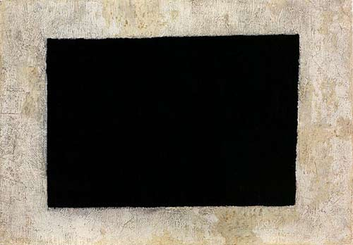 Schwarzes Rechteck von Kasimir Malweitsch
