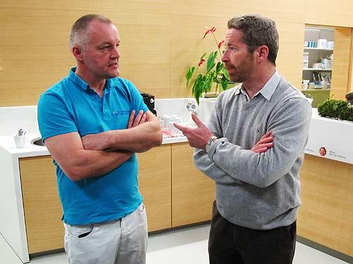 Tierärzte Hannes Resch (links) und Karl Bauer