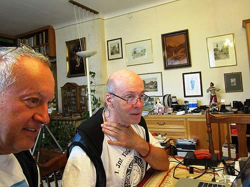 Wolfgabg Wehap (links) Und Walter Ulreich (Foto: Archiv Wehap)
