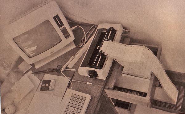 25.11.1986: Die Kulturinitiative GARAGE stellt ihre Adreßverwaltung auf EDV um (dBASE)...
