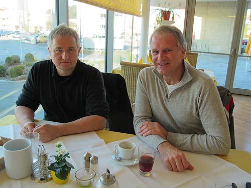 Ewald Ulrich (links) und Peter Moser