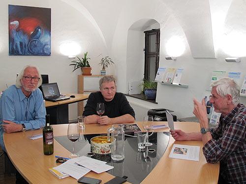 Von links: Ewald Ulrich,