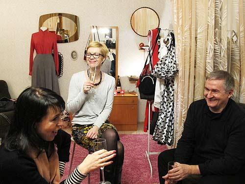 Von links: Kerstin Feirer, Sonja Herbitschek und Ewald Ulrich
