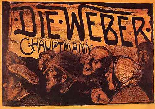 Plakat von Emil Orlik aus dem Jahr 1897