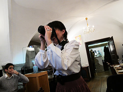 Kerstin Feirer auf Schloß Freiberg