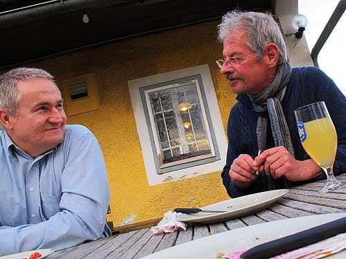 Ewald Ulrich (links) und Chris Scheuer