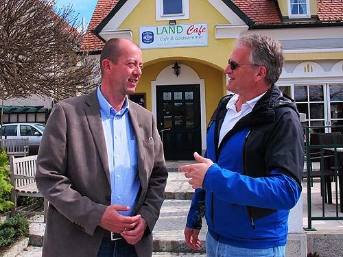 Robert Schmierdorfer (links) und Peter Moser