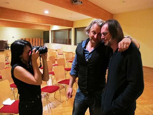 Von links: Kerstin Feirer, Oliver Mally und Peter Taucher