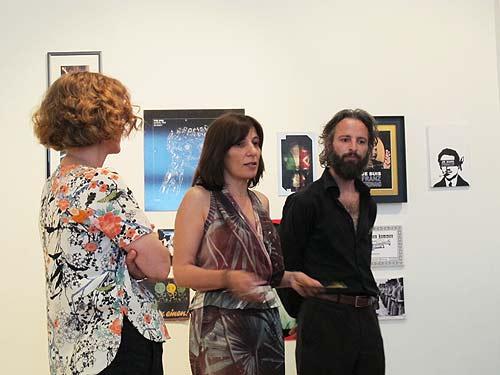 Von links: Astrid Kury, Mirjana Peitler-Selakov und Igor F. Petkovic