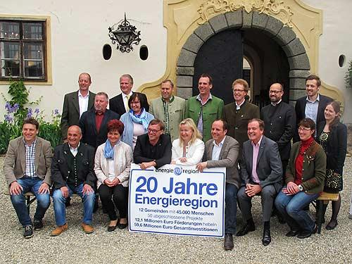 """Heuer waren """"20 Jahre Energieregion"""" zu beachten"""