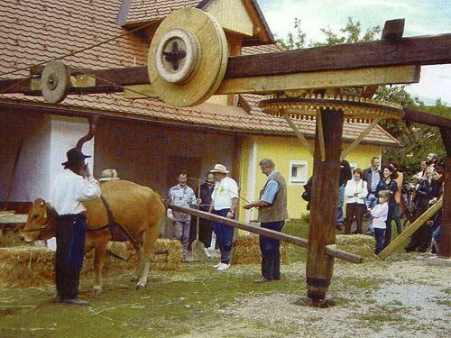 Der Albersdorfer Göpel