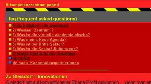 Netzkultur anno 1999