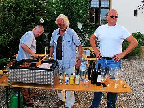Von links: Ewald Ulrich, Winfried Lehmann und Peter Moser