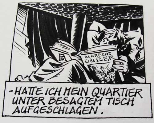 Chris Scheuer ist seit Kindertagen von Albrecht Dürer beeinflußt