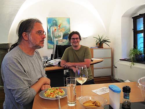 Mark Blaschitz (links) und Sebastian Ulrich