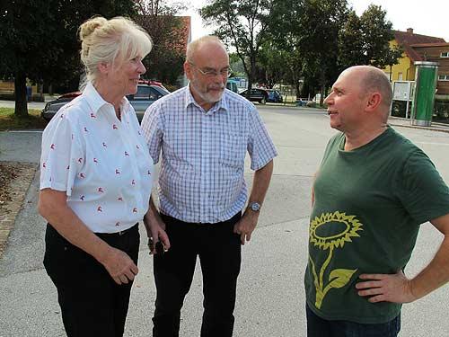 ÖGHK, von links: Lisl und Heinz Mesicek, Gottfried Lagler