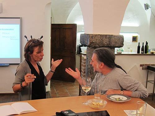 Mirjana Peitler-Selakov und Mark Blaschitz