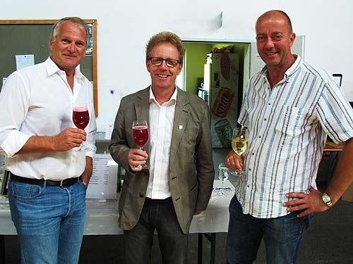 Drei Bürgermeister, ein größerer Zusammenhang (von links):