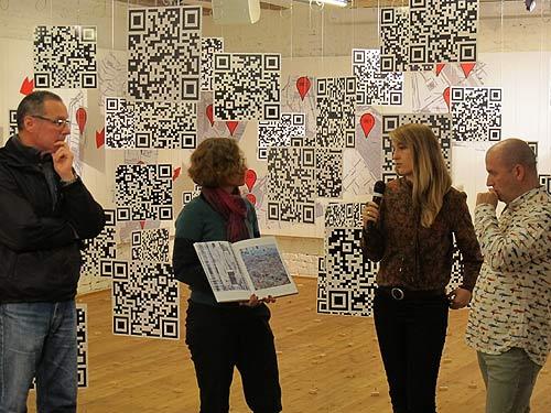 Von links: Wenzel Mracek, Astrid Kury, Milica Milicevic und Milan Bosnic