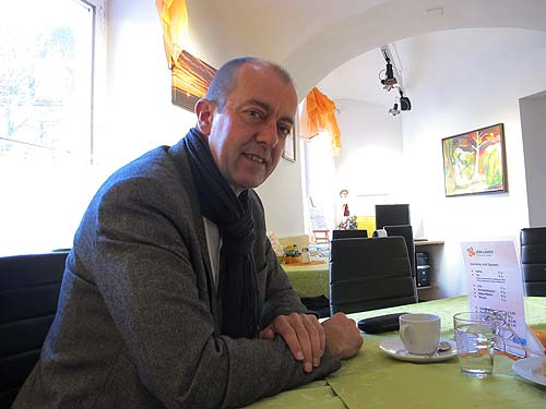Bürgermeister Robert Schmierdorfer bei einer unseren schnellen Konferenzen