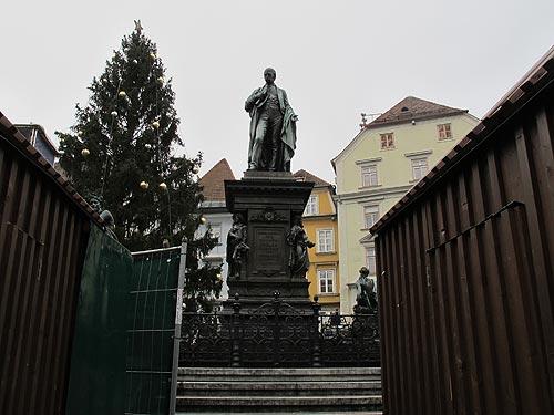 Der Grazer Erzherzog Johann-Brunnen