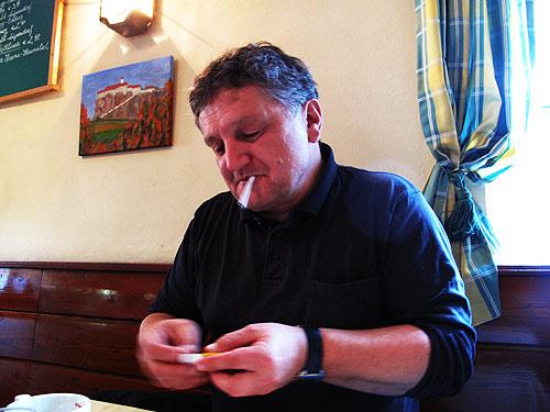 Jörg Klauber ist ein Fachmann für visuelle Codes