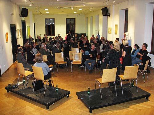Jänner 2009: Die erste steirische LEADER-Kulturkonferenz (Forum Kloster, Gleidorf)